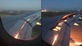 Susto en el aire: se incendió una turbina del avión que trasladaba a Arabia