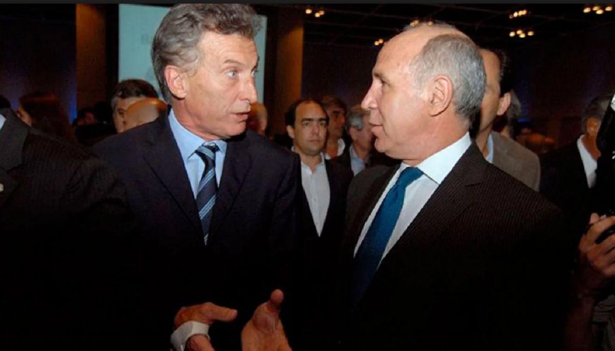 Mauricio Macri y Ricardo Lorenzetti