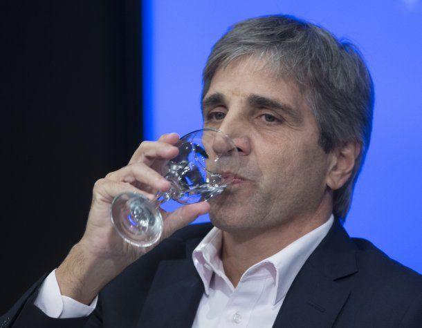 Luis Caputo, nuevo presidente del Banco Central<br>