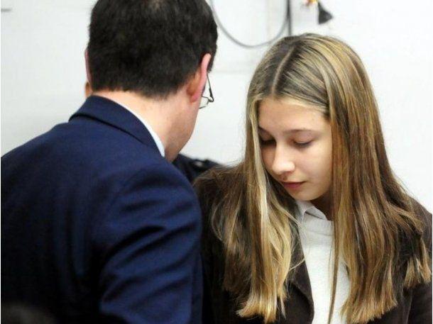 Nahir Galarza en los tribunales de Gualeguaych??<br>