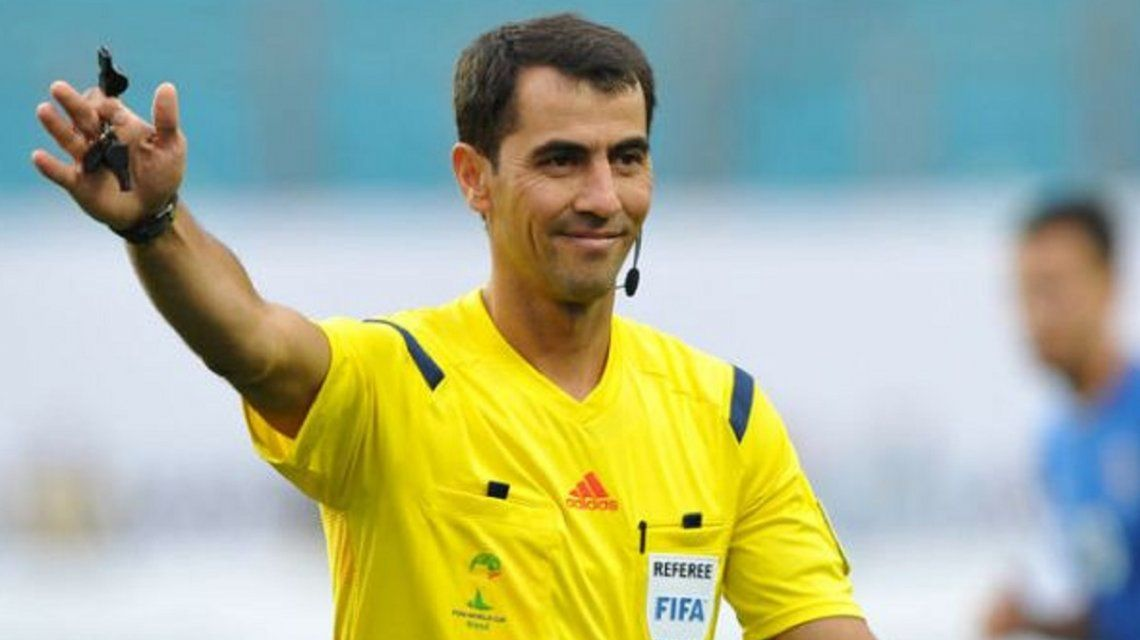 Se confirmó el árbitro para Argentina-Croacia: un nefasto recuerdo para la Selección