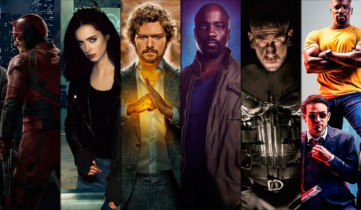 Las series de Marvel en Netflix que tenés que ver