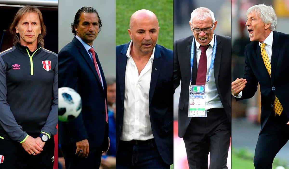 ¡Están en deuda! Los cinco técnicos argentinos del Mundial no pudieron ganar en su debut