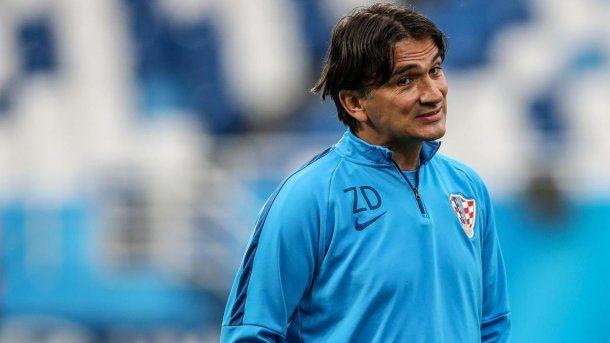 Zlatko Dalic, director técnico de Croacia<br>