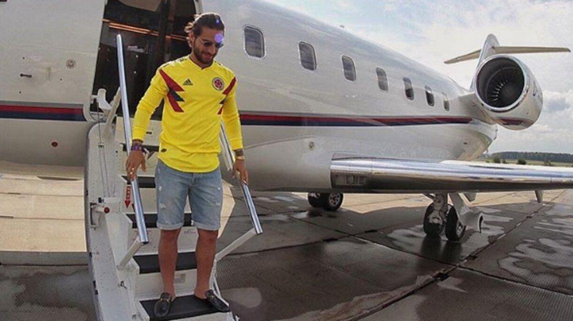 Le robaron a Maluma mientras veía a Colombia