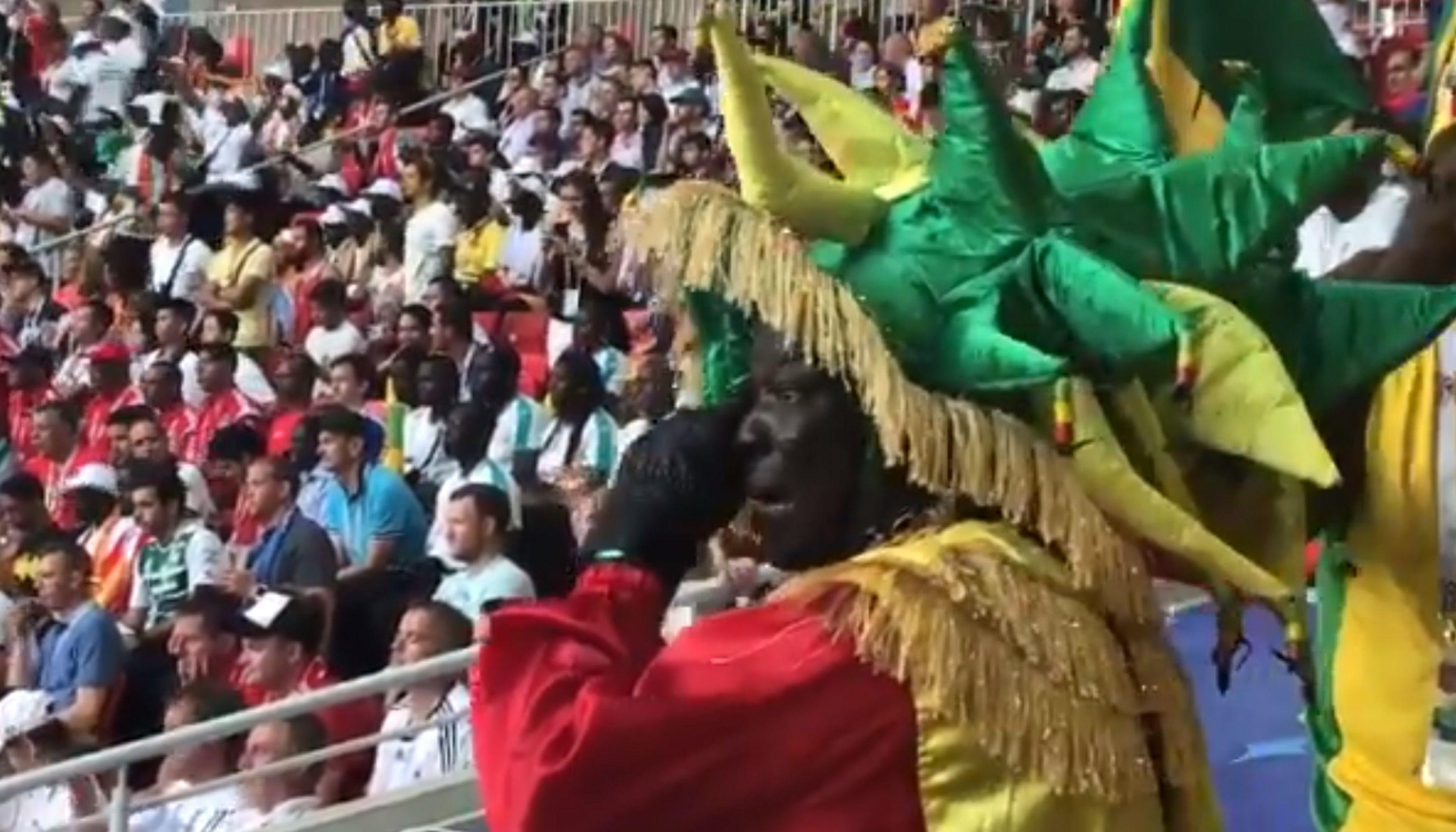 VIDEO: Así reaccionó un senegalés después del segundo gol ante Polonia
