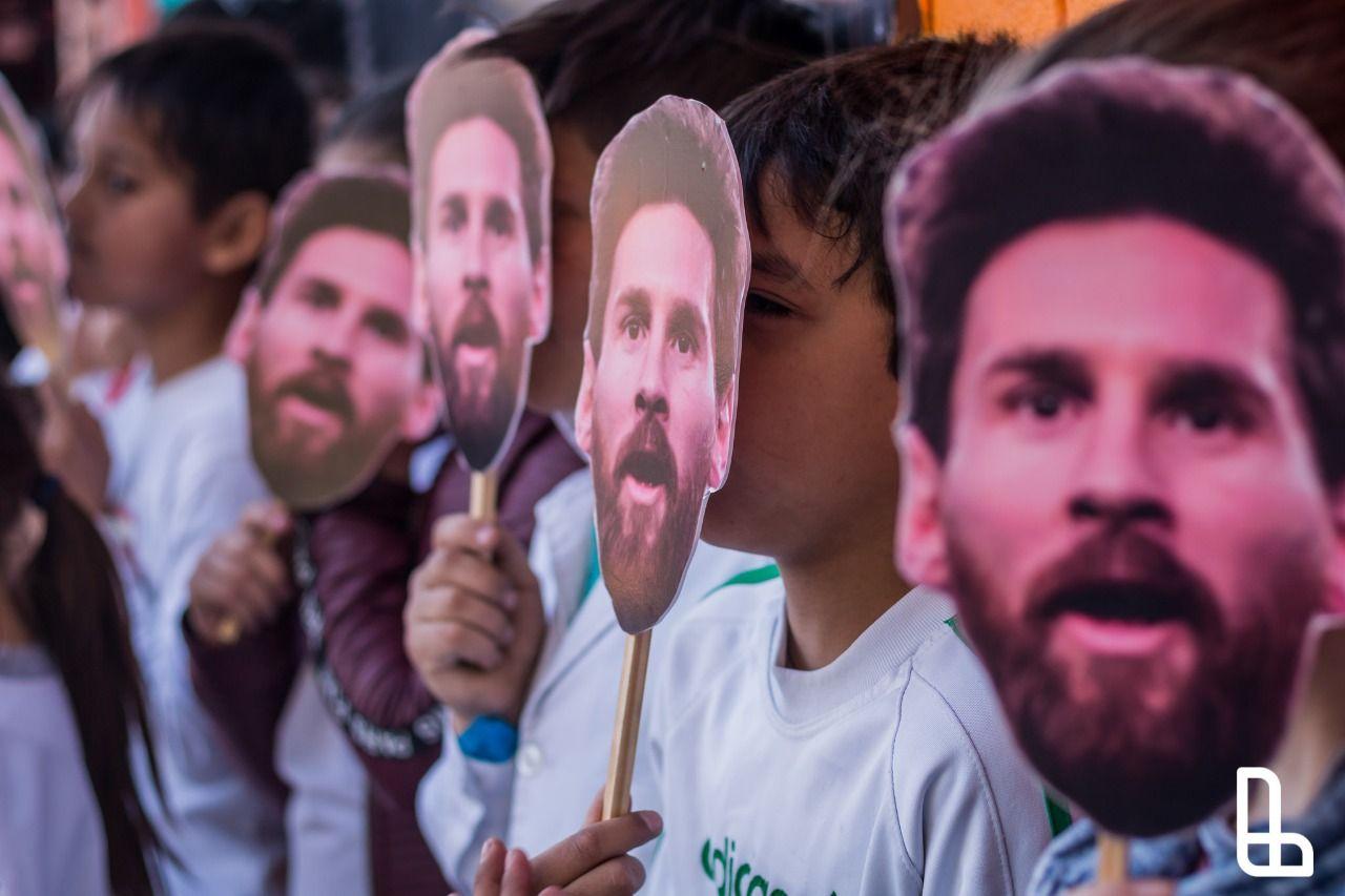 Inauguraron el Parque Messi para chicos en Lanús