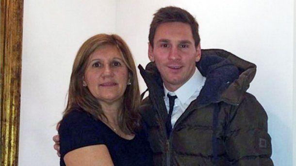 La madre de Lionel Messi lo defendió de las críticas<br>