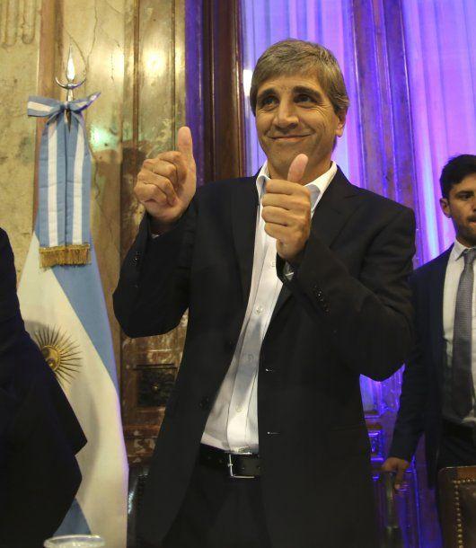 Luis Caputo, presidente del Banco Central<object type=