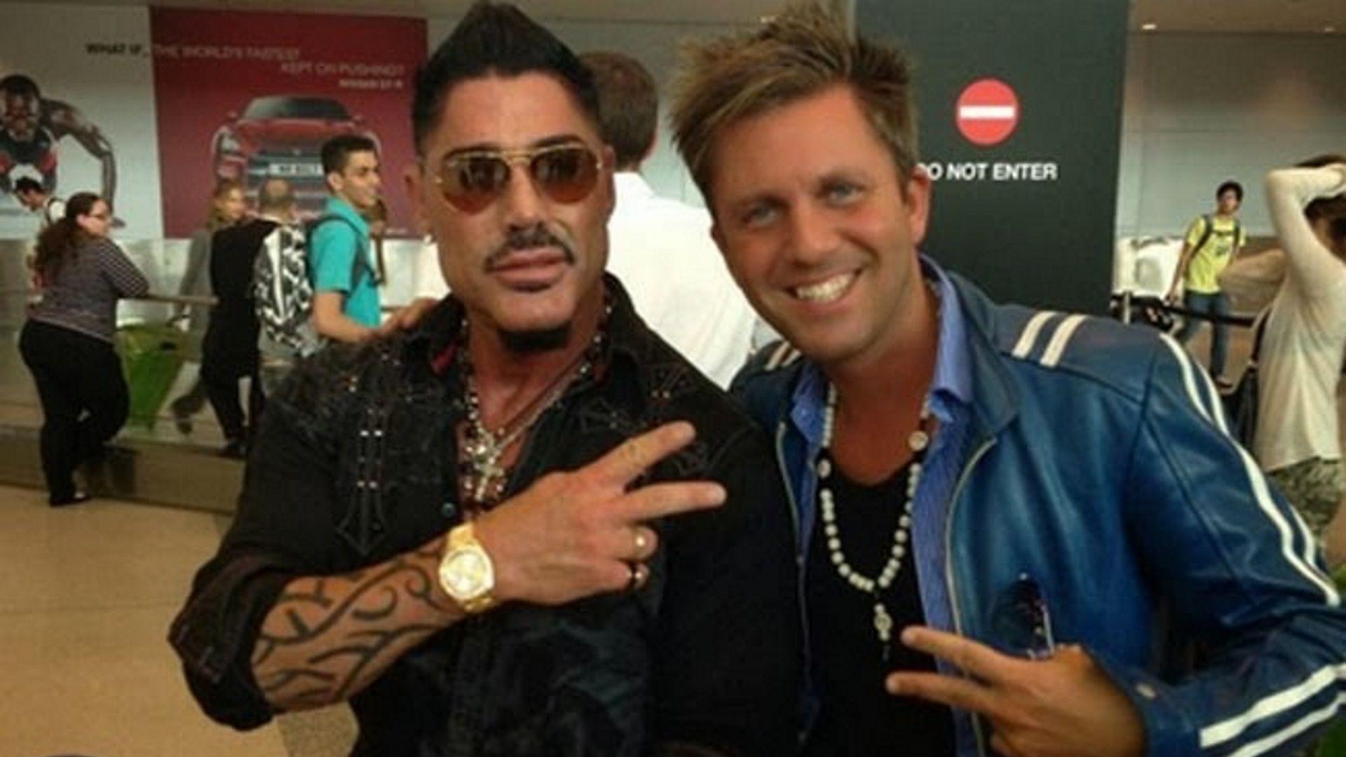 Ricardo Fort junto a Hernán Ranieri