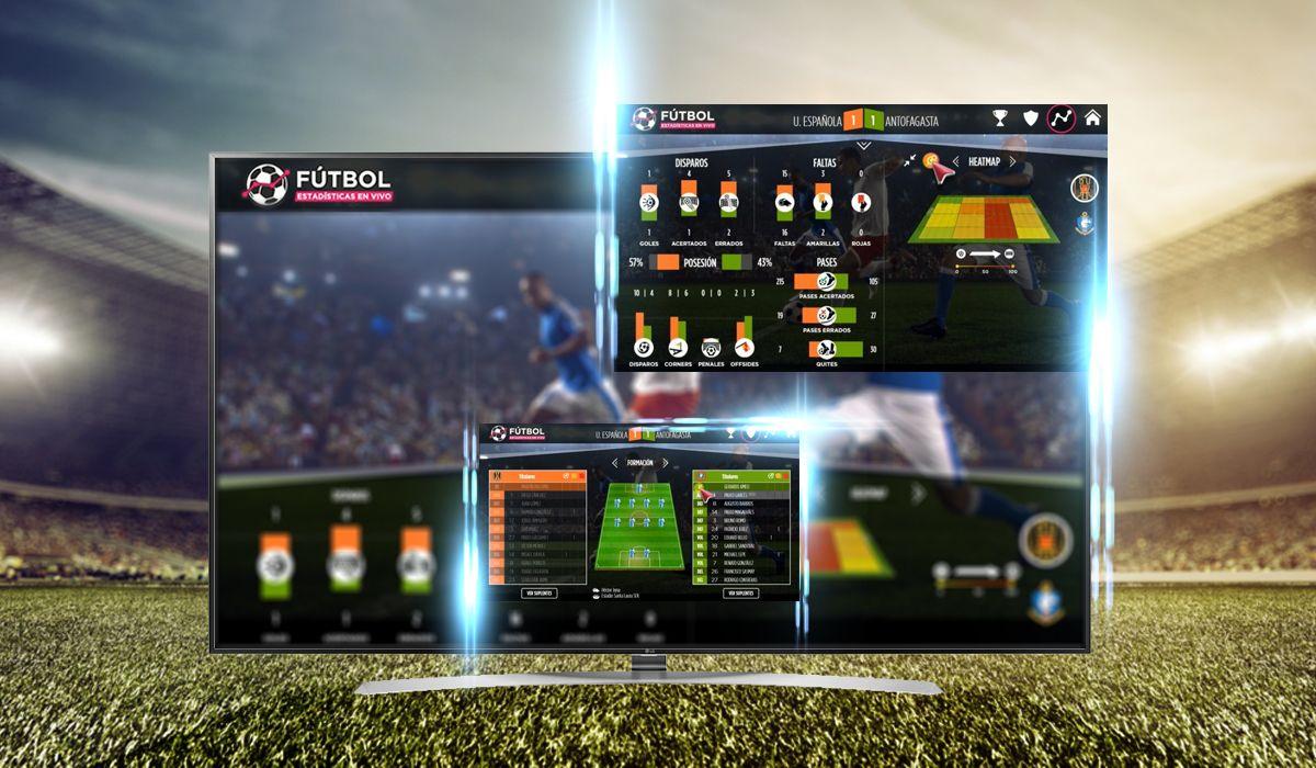 ¿Cómo seguir las estadísticas del fútbol en tiempo real cuando mirás los partidos?