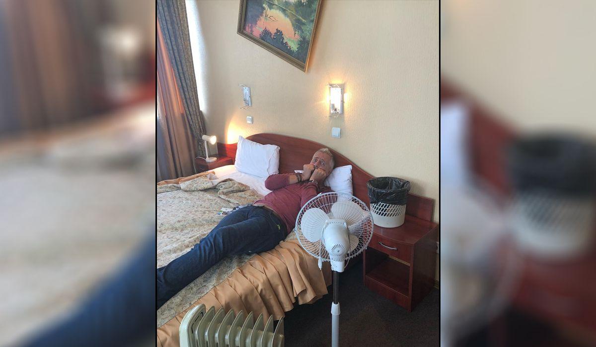 Las quejas de Marley por un hotel al que lo mandaron en Rusia 2018