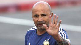 Sampaoli presentó un equipo distinto en cada partido que dirigió a la Argentina