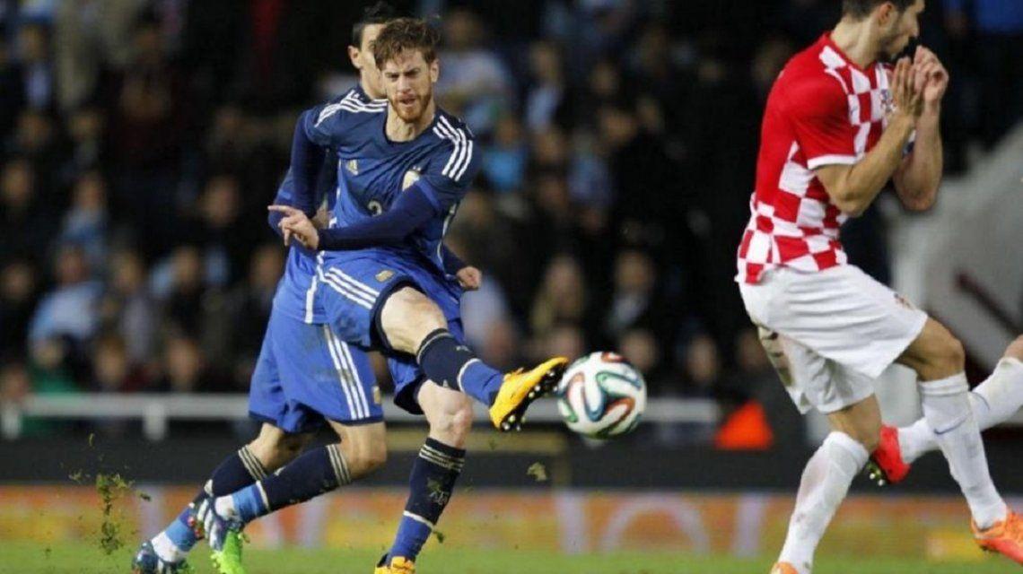 Cristian Ansaldi marcó un gol en 2014 ante Croacia