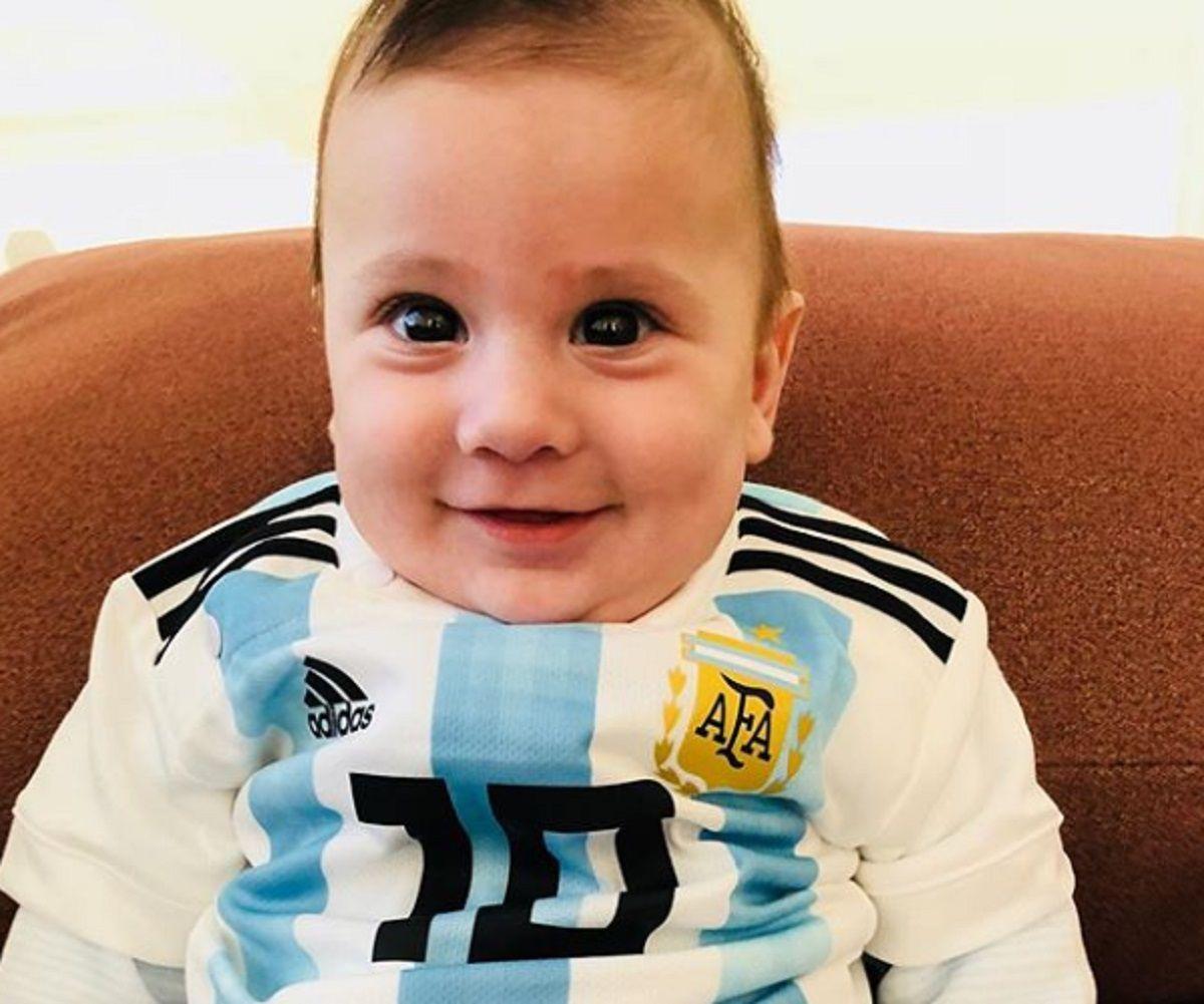 Vamos papi: la foto más tierna de Anto Roccuzzo para alentar a Messi