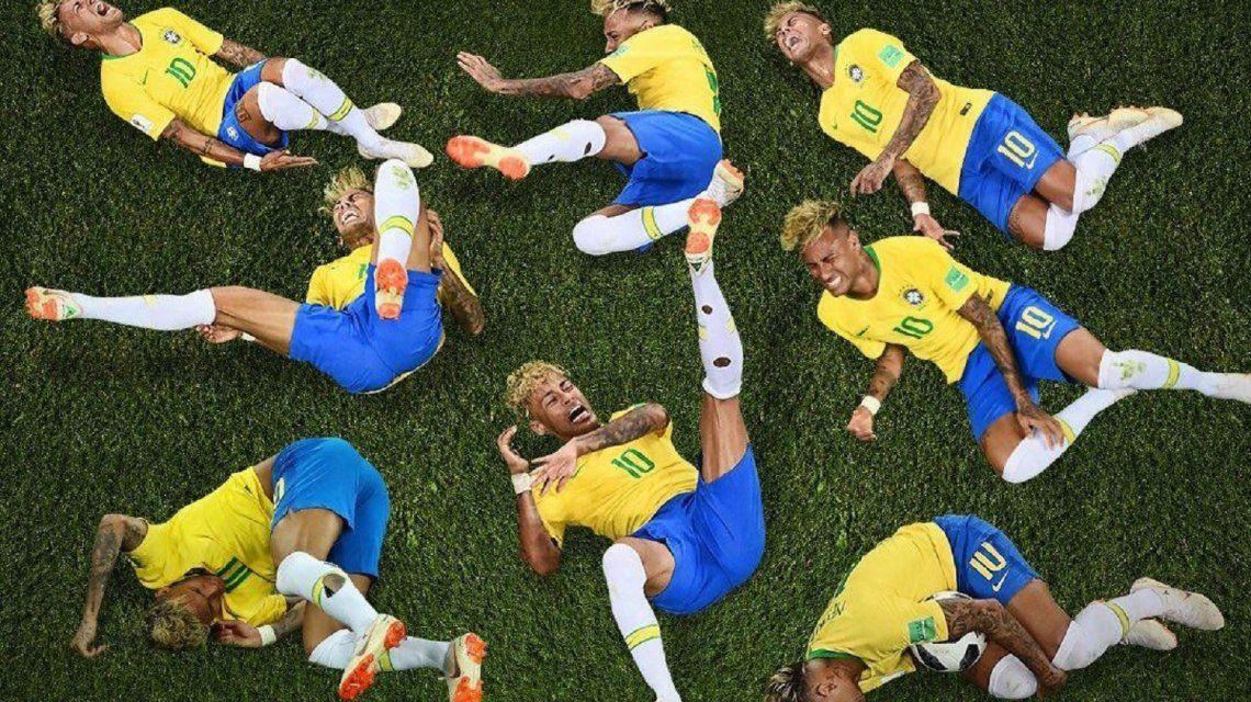 neymar dive world cup