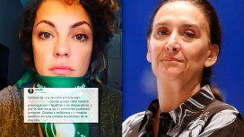 Dolores Fonzi agradeció la reunión con Michetti