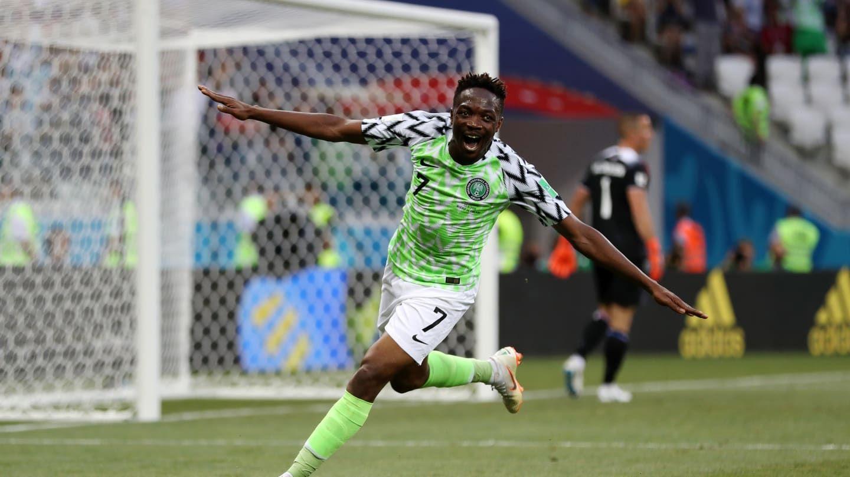 Gol de Ahmed Musa para Nigeria en Rusia 2018 - Crédito:fifa.com