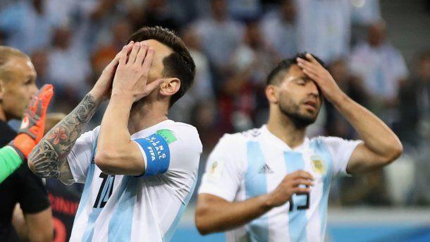 Messi y Agüero en la Selección - Crédito: fifa.com