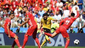 Bélgica golea a Túnez y logra la clasificación a octavos de la Copa