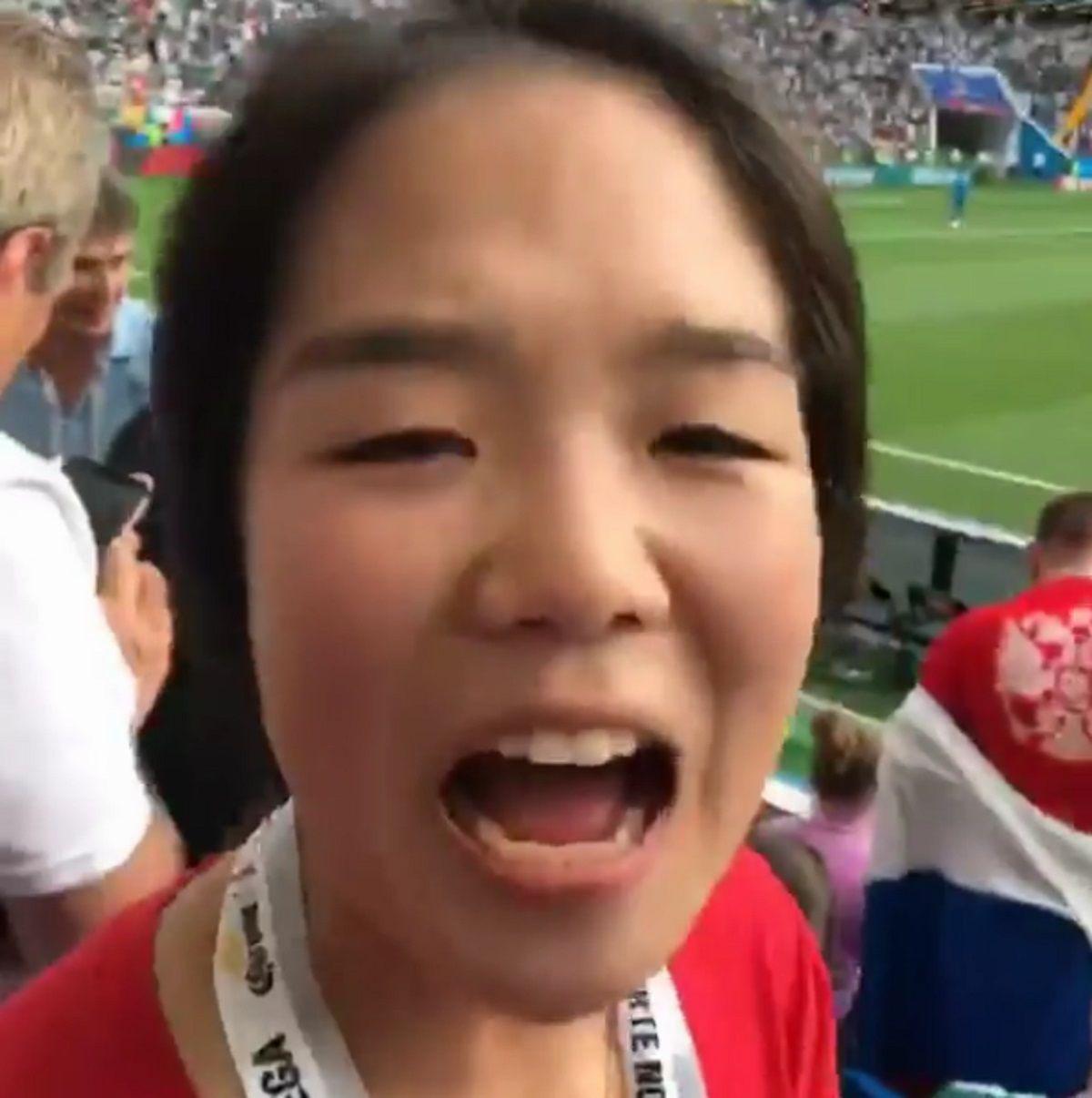 Intento frustrado de un mexicano de insultar una coreana