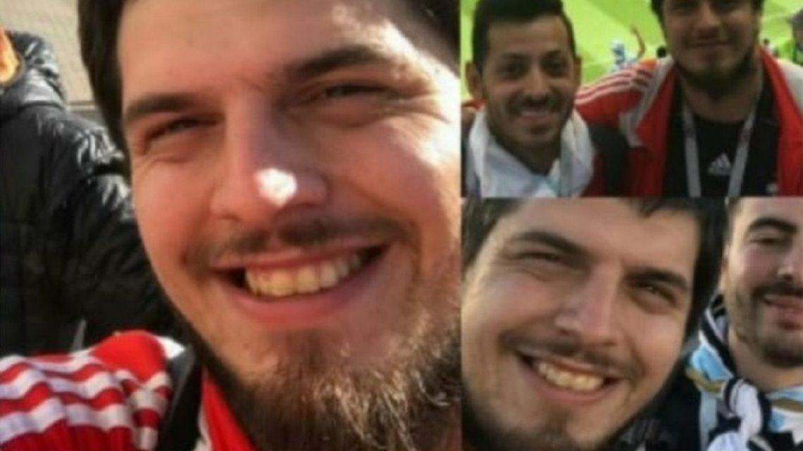 Apareció el argentino que fue al Mundial y había desaparecido en Moscú