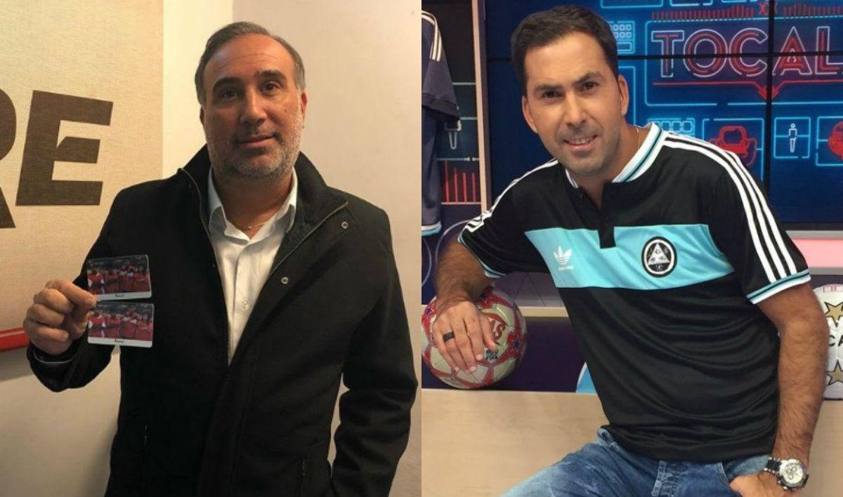 Anello y Arévalo se trenzaron en Twitter