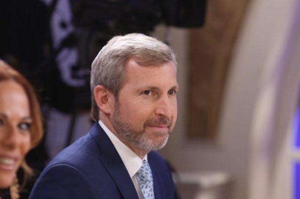 Rogelio Frigerio, ministro del Interior - Crédito: @mirthalegrand