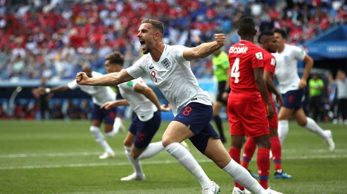 Inglaterra goleó 6 a 1 a Panamá y pasó a octavos de final