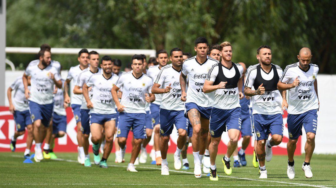 Alarma en la Selección: un titular no entrenó y está en duda para jugar con Francia