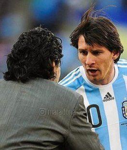 Diego Maradona y Lionel Messi - Crédito: Instagram @maradona