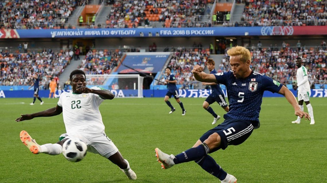Japón y Senegal empataron y lideran el Grupo H