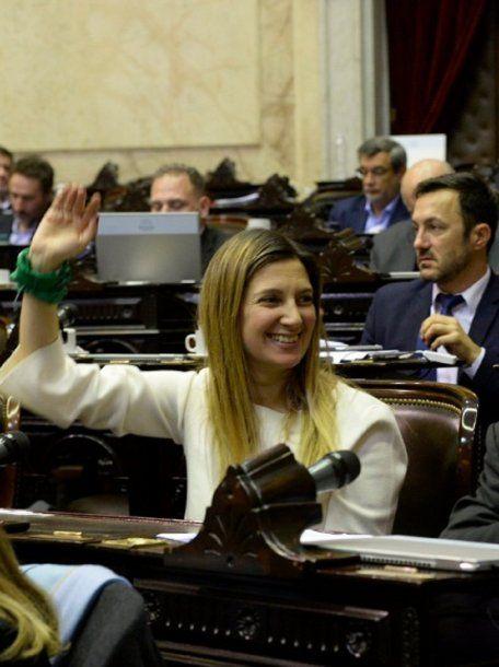 Silvia Lospennato y la legalización del aborto - Crédito: DiputadosAR<div><br></div>