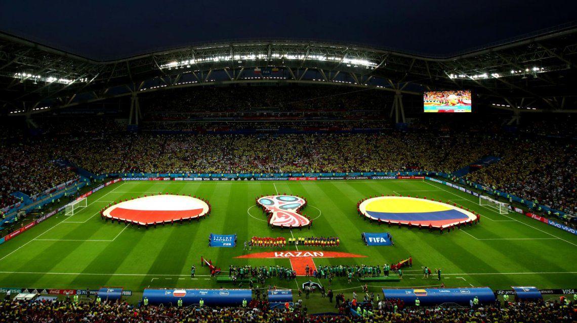 Colombia goleó a Polonia y sigue vivo en el Grupo H