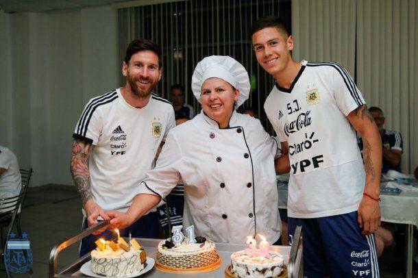 Messi, la cocinera Antonia y Nehuén Pérez cumplieron años