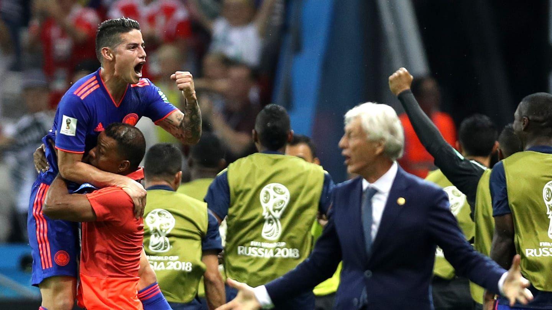 Gol de Falcao para Colombia en el Mundial de Rusia - Crédito:fifa.com