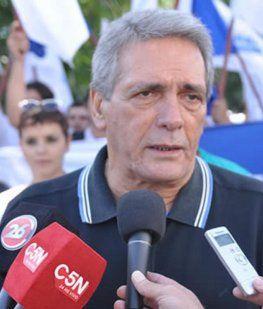 Carlos Acuña, integrante de la CGT