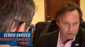 Intendente procesado por narco: Varisco negó las acusaciones y dice que no puede estar en todo