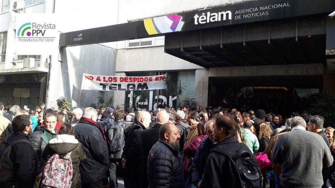 Despedidos en Télam y desguace del Estado: parte del plan de ajuste pedido por el FMI