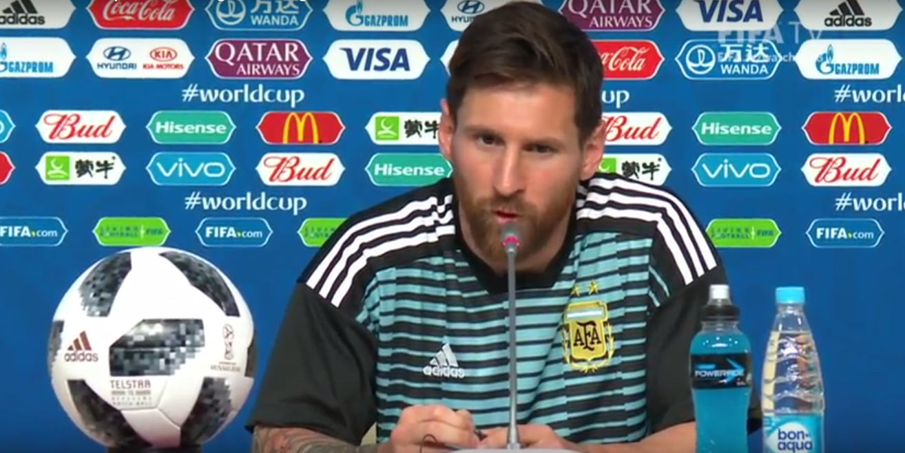 Messi: No recuerdo haber sufrido tanto