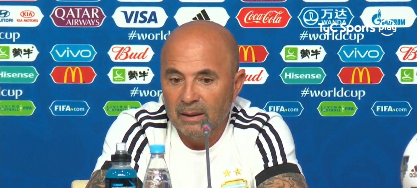 Sampaoli elogió al equipo tras el pase a octavos