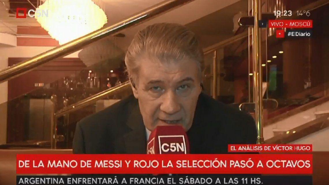 Víctor Hugo Morales: No hubo lugar para la proeza ni hazaña pero sí una labor contundente y eficaz para llegar a octavos