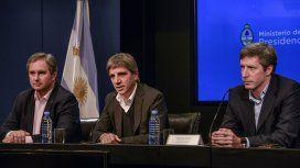 Pablo Quirno, Luis Caputo y Santiago Bausili, los lobos de Wall Street de Macri