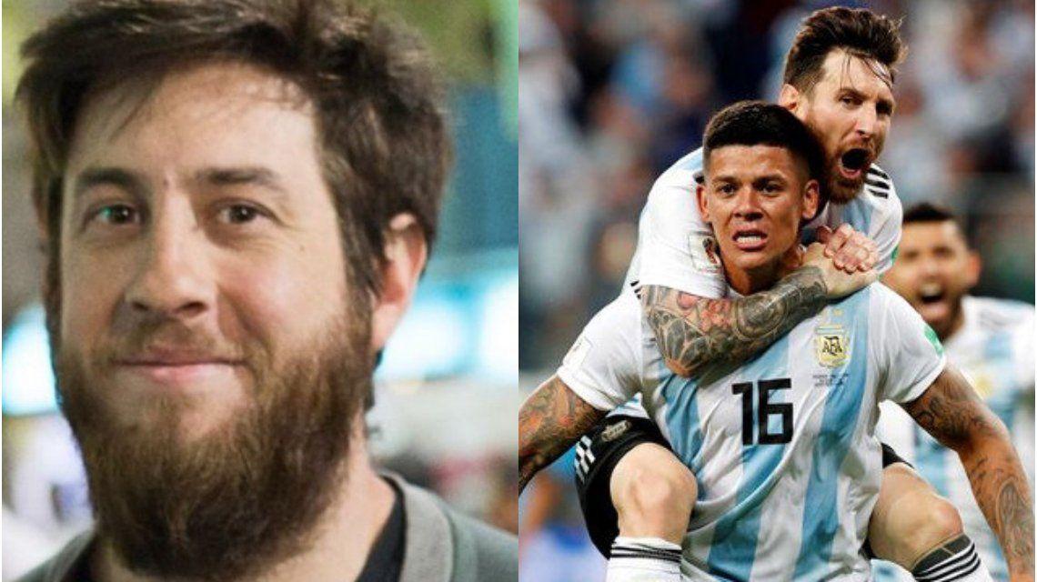 Un sanjuanino pronosticó tal como fue la clasificación de Argentina