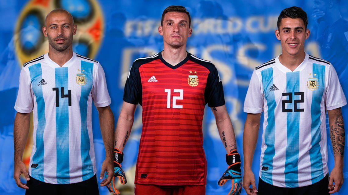 Mascherano, Pavón y Armani: los mejores de Argentina en la primera ronda