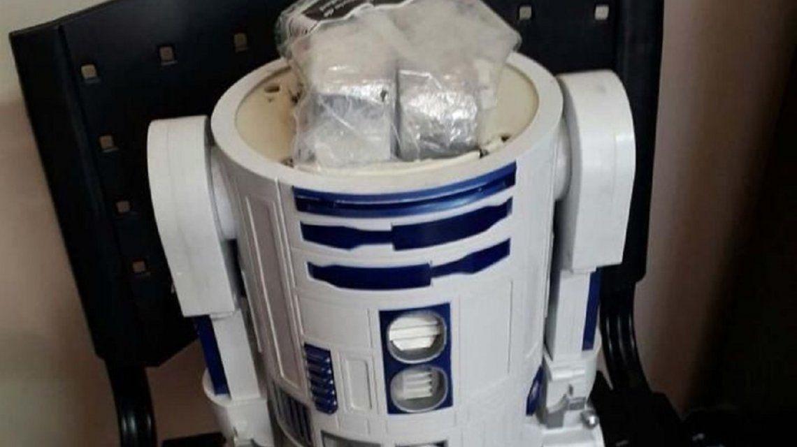 Jujuy: traficaban cocaína dentro de muñecos de Arturito de Star Wars