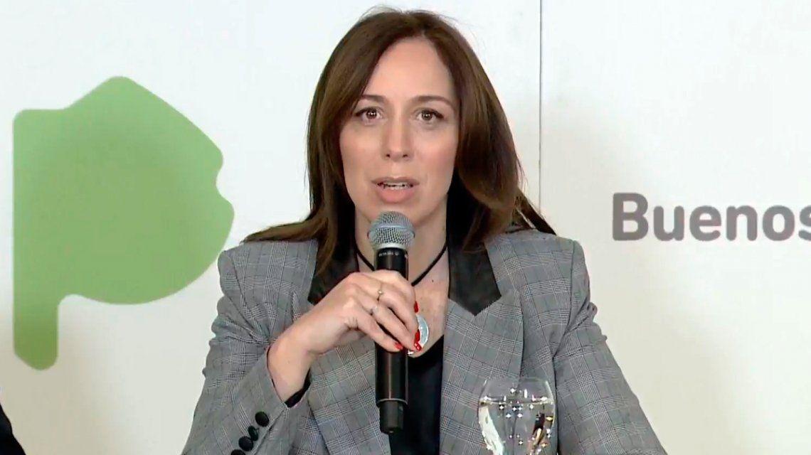 Vidal anunció medidas económicas