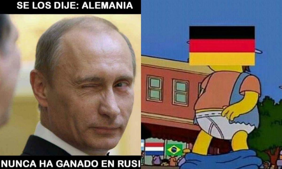Memes por la eliminación alemana