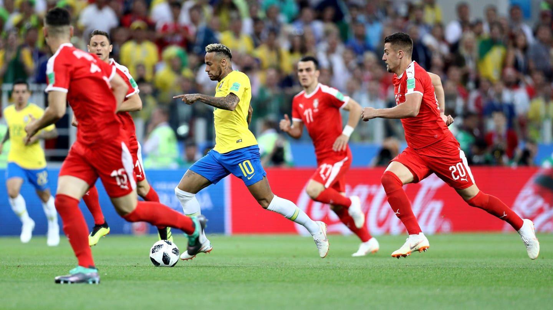 Brasil superó a Serbia y clasifica primero en el Grupo E