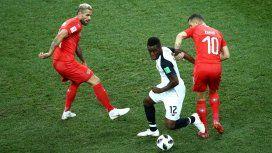 A octavos de final: Suiza empató con Costa Rica y avanza en el Mundial